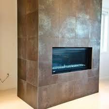 beautiful porcelain tile fireplace surround metallic porcelain