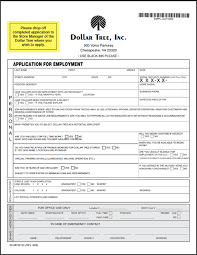 Spirit Halloween Job Application by Dollar General Application Print Out Dollar Tree Application