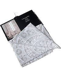 Nicole Miller Home Two Curtain Panels new year u0027s savings on tahari home window curtains panels damask