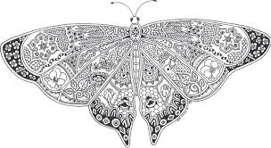 Pictures Coloring Complex Butterfly Pages For Detailed 240 Mandala