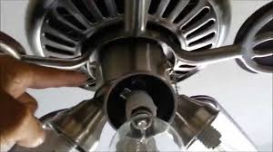Harbor Breeze Ceiling Fan Issues by How To Repair Blinking Wattage Limiter Hunter Ceiling Fan Repair