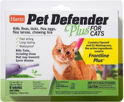 flea treatment for cats hartz pet defender plus flea treatment for cats 3 treatments