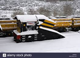 100 Trucks In Snow Railway Plough And Seen In Falling At Tonbridge