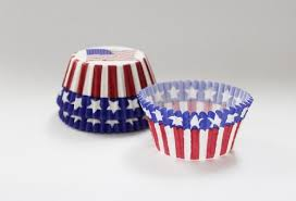 Cupcake Creations Stars And Stripes Cases 32 Amazoncouk Kitchen Home