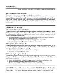 Top Senior Assistant Resume Samples Cover Letter