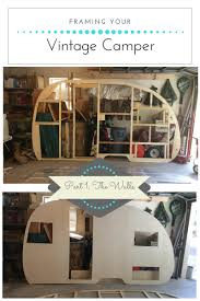 100 Restored Retro Campers For Sale Framing Your Vintage Camper Part 1 The Walls Lip Gloss And Power