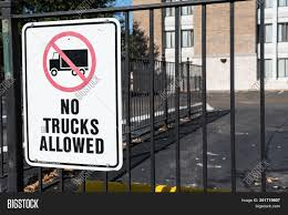 No Trucks Allowed Sign Image & Photo (Free Trial) | Bigstock This Sign Says Both Dead End And No Thru Trucks Mildlyteresting Fork Lift Sign First Safety Signs Vintage No Trucks Main Clipart Road Signs No Heavy Trucks Day Ross Tagg Design Allowed In Neighborhood Rules Regulations Photo For Allowed Meashots Entry For Heavy Vehicles Prohibitory By Salagraphics Belgian Regulatory Road Stock Illustration Getty Images