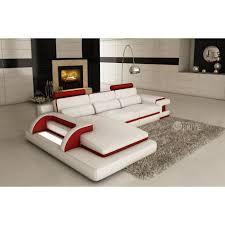 canapé sofa italien canapé d angle en cuir italien 6 places vinoti et achat vente