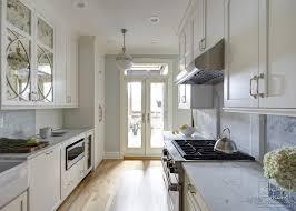 Vintage Luxury Galley Kitchen