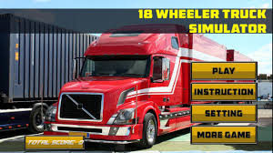 18 Wheeler Truck Simulator 1.1 APK Download - Android Simulation Games
