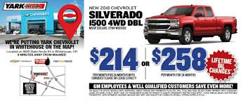 Yark Chevrolet In Whitehouse | Toledo, Waterville, OH & Bowling ...