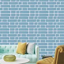 qin er 2019 wall wallpaper pvc 45cm blaue ziegelsteintapete