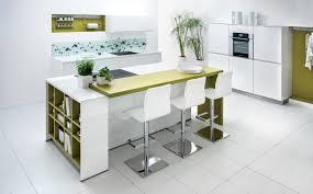 mod鑞es cuisines schmidt modele cuisine avec ilot bar trendy meuble rideau cuisine