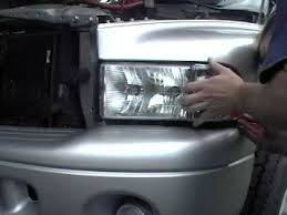 how to install replace headlight dodge ram truck 98 02 1aauto