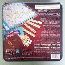 Standard Scrabble Tile Distribution by Super Scrabble Crossword Game In Collectible Tin America U0027s