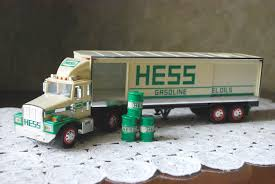 1987 HESS 18-Wheeler Truck, Vintage Toy With Working Lights, Collectible  Toy, Bank
