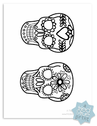 Sugar Skull Pumpkin Carving Patterns by Day Of The Dead Shrink Plastic Jewelry Shrink Plastic Jewelry