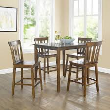 Mainstays 5 Piece Mission Style Dining Set Cherry