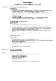 Temporary Clerk Resume Samples | Velvet Jobs Nursing Resume Sample Writing Guide Genius How To Write A Summary That Grabs Attention Blog Professional Counseling Cover Letter Psychologist Make Ats Test Free Checker And Formatting Tips Zipjob Cv Builder Pricing Enhancv Get Support University Of Houston Samples For Create Write With Format Bangla Tutorial To A College Student Best Create Examples 2019 Lucidpress For Part Time Job In Canada Line Cook Monster