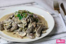 boeuf stroganoff oliver low carb sandras kochblog