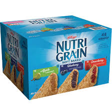 Nutri Grain Soft Baked Cereal Bars Variety Pack 13 Oz 48 Count