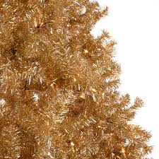 7ft Pre Lit Christmas Trees by Classic Champagne Gold Full Pre Lit Christmas Tree Hayneedle