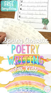 Halloween Acrostic Poem Ideas by Spring Acrostic Poetry Writing Proud To Be Primary