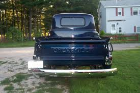 100 1950 Chevrolet Truck Chevy Completed Restoraton Blue With Belting Painted