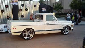 100 72 Chevy Trucks Snow White 67 Truck On 24rims In Rear Ideas Of