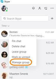 skype de bureau comment gérer les conversations de groupe dans la nouvelle
