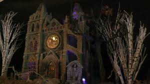 Lemax Halloween Village Displays halloween village 2012 hd youtube