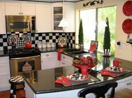 Image Of Red Kitchen Accessories
