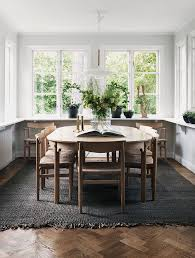 Best Floor For Kitchen And Dining Room by Best 25 Rug Under Dining Table Ideas On Pinterest Formal