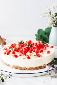 white chocolate cheesecake mit spekulatiusboden
