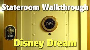 Disney Fantasy Deck Plan 11 by Deluxe Ocean View Stateroom With Verandah Walkthrough With Craig