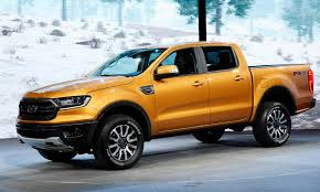 New Ford Ranger Unveiled At Detroit Auto Show