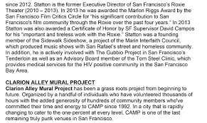 Clarion Alley Mural Project Address by Megan Wilson Clarion Alley Mural Project