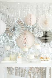 Pink White And Gold Birthday Decorations by 25 Best Silver Party Decorations Ideas On Pinterest Silver