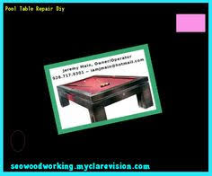 free diy pool table plans 202911 woodworking plans and projects
