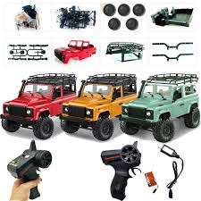 100 Truck Hunting Accessories 112 WPL 24G RC Auto Car Climbing Crawler Kit Buggy With