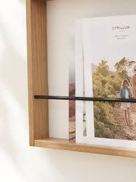 cyrillus wand zeitschriftenhalter in natur