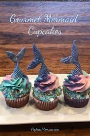 Create Your Own Mermaid Cupcakes