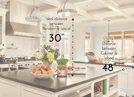 standard kitchen island height