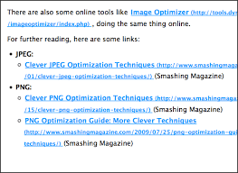 Example Of A Print Style Sheet Showing URL Destinations