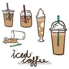 Free Vectors Iced Coffee Vector