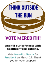 Sample Student Council Campaign Poster