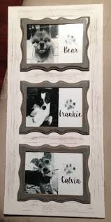 Rotating Christmas Tree Stand Hobby Lobby by Framed Paw Print Art Frame Is From Hobby Lobby And I Used Kid