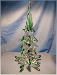 Ten Inch Murano Christmas Tree Click To Expand