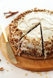 AMAZING Apple Gingerbread Cake With Vegan Cream Cheese Frosting 1 Bowl Easy And SO