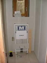 pose du wc suspendu rénovation d une annexe